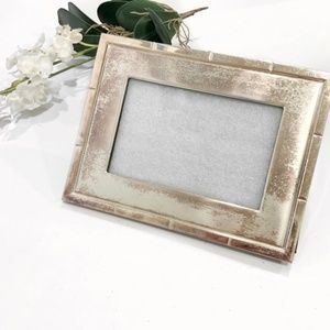 Distressed Metal Picture Frame